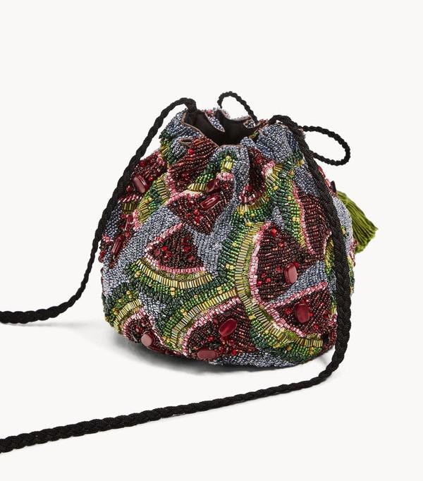 Best novelty handbags:  watermelon clutch