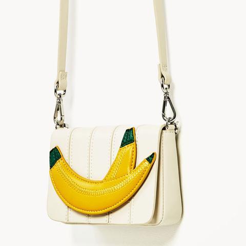 Mini Banana Crossbody Bag