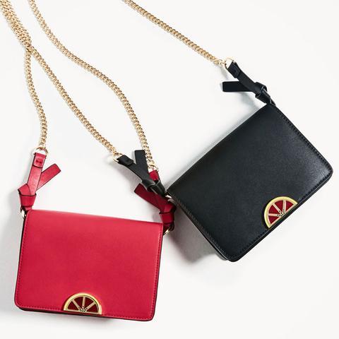 Fruit Detail Crossbody Bag