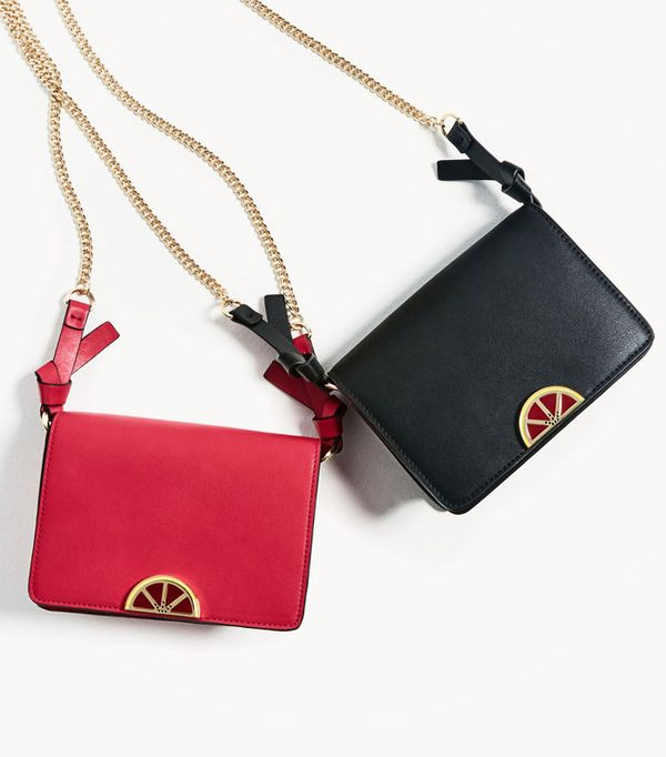 Best novelty handbags:  fruit detail crossbody bag