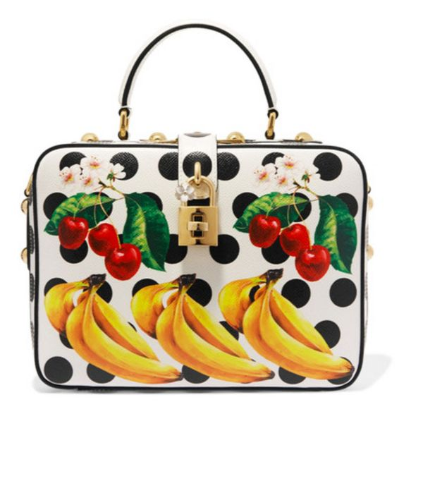 Best novelty handbags:  Dolce & Gabbana fruit tote
