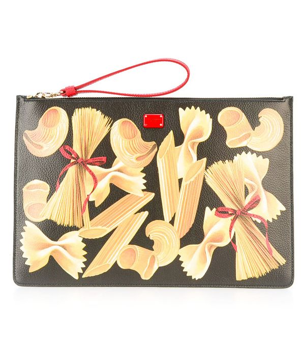 Best novelty handbags:  Dolce & Gabbana pasta bag