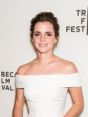 Wouldn't Emma Watson's Gorgeous White Gown Be Perfect for a Wedding?