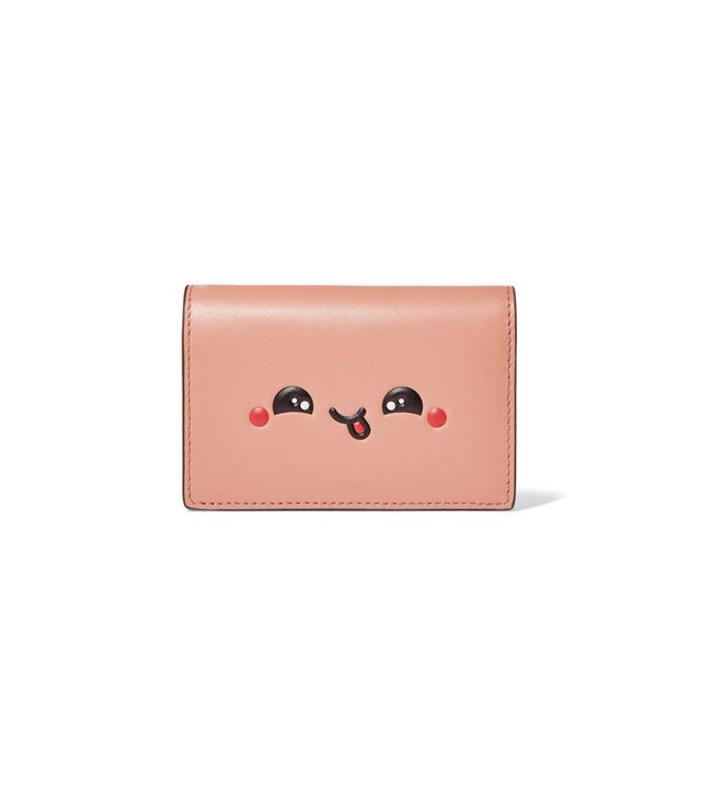 Anya Hindmarch Kawaii Embossed Leather Cardholder