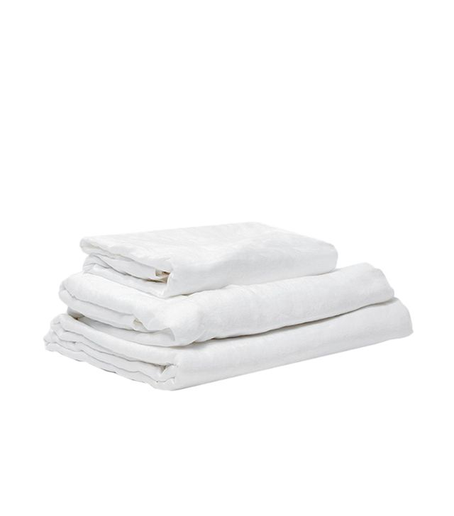 In Bed Queen Linen Sheet Set