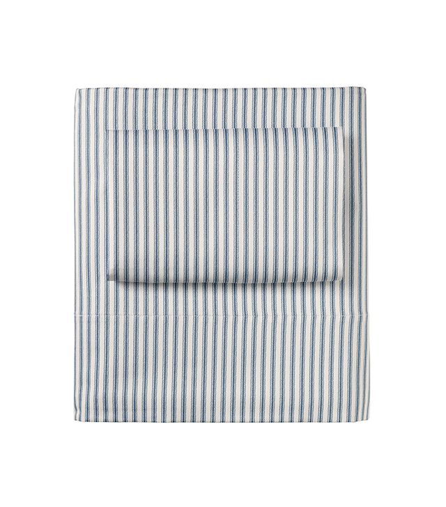 Serena & Lily Ticking Stripe Sheet Set