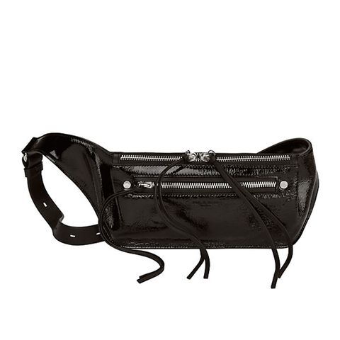 Small Patent Leather Fanny Pack