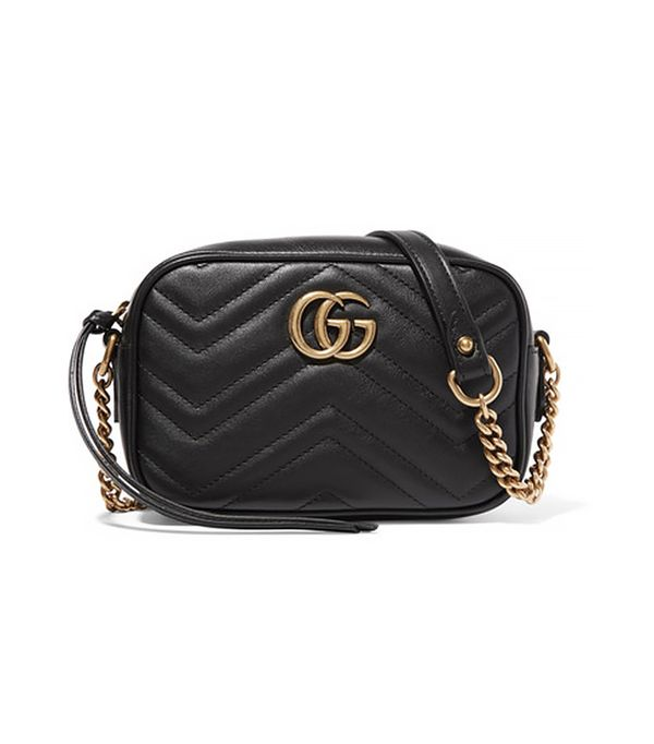 dc fashion - Gucci GG Marmont Camera Mini Quilted Leather Shoulder Bag