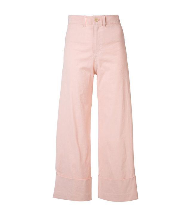 best light pink pants