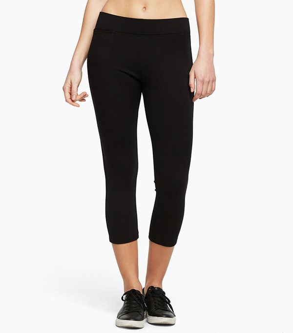 most flattering leggings- american giant the cropped pant