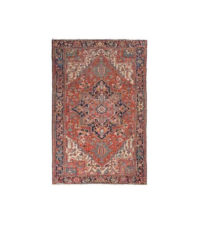 Consort Antique Persian Heriz Wool Rug