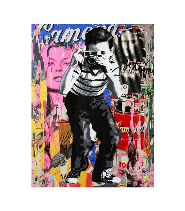 "Mr. Brainwash Limited Edition Poster ""Smile"""
