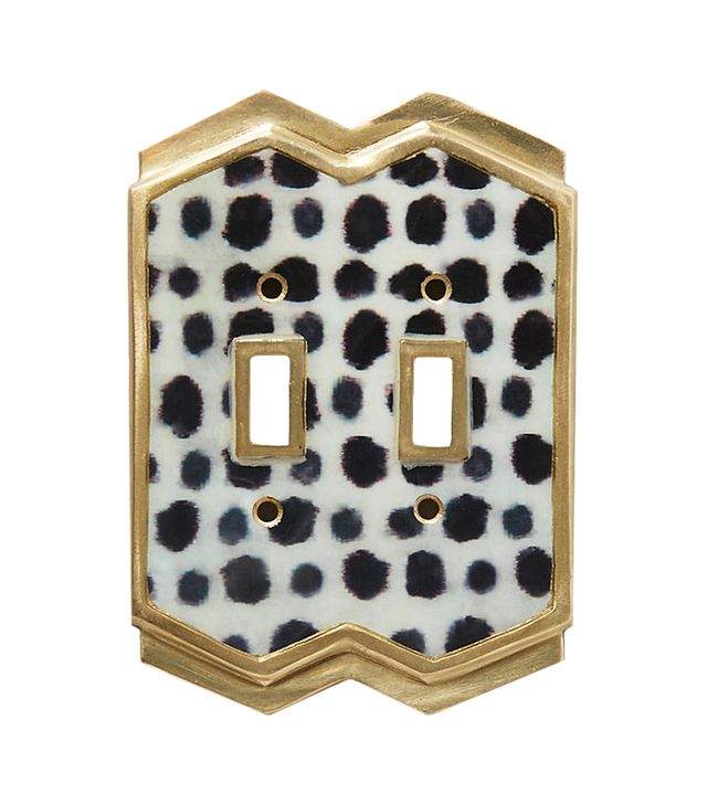 Anthropologie Dotted Ames Switch Plate