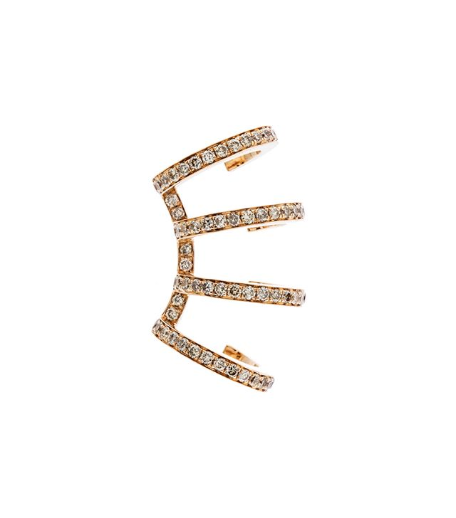 The RealReal 18K Rose Gold Ear Cuff
