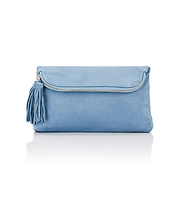Barneys New York Foldover Pouch