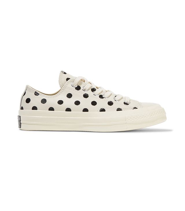 Converse Chuck Taylor All Star Embroidered Leather Sneakers
