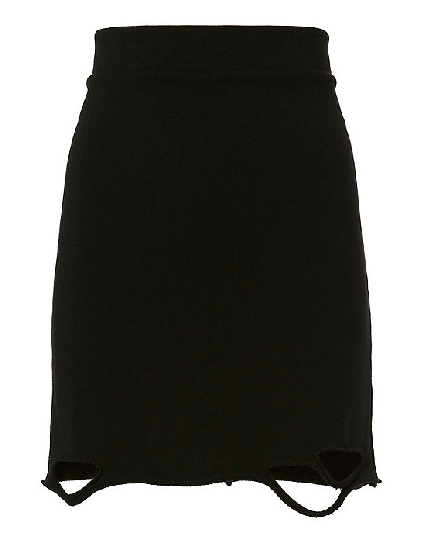 NSF Sweatshirt Mini Skirt