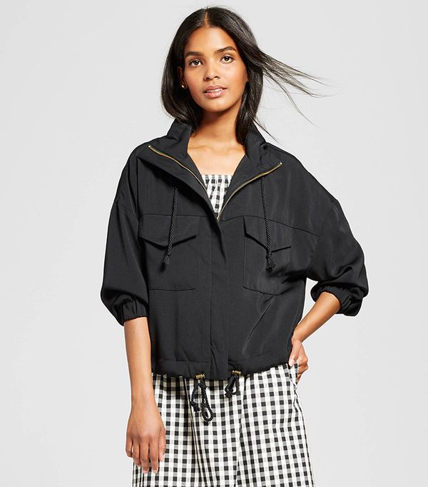 Who What Wear Collection Slouchy Bomber Jacket