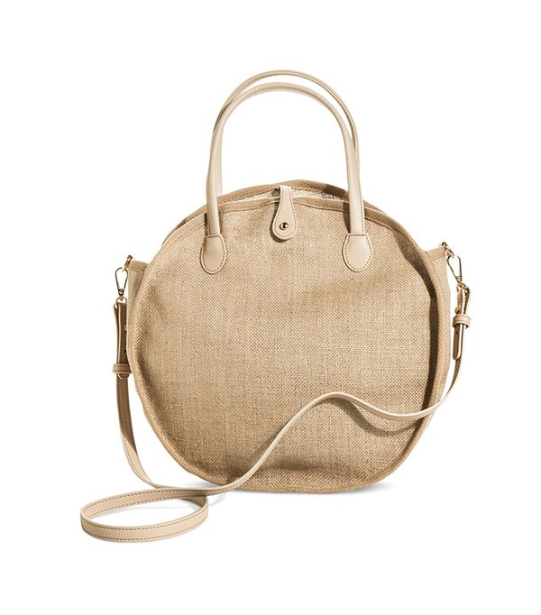 Who What Wear Collection Weave Circle Bag