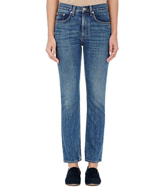 Brock Collection Selvedge-Denim Straight-Leg Jeans