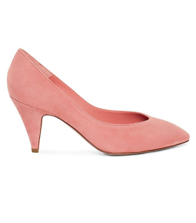best pink pumps- mansur gavriel 65MM Classic Heels