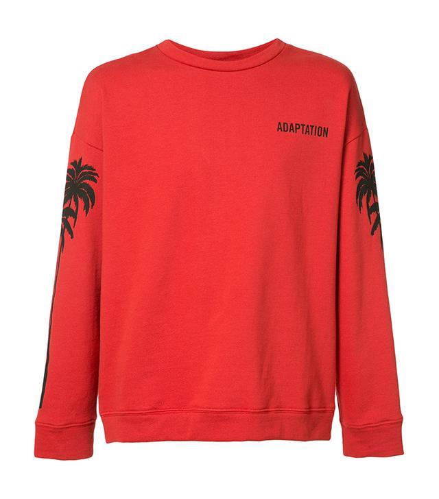 Adaptation Oversized Palm Sweatshirt