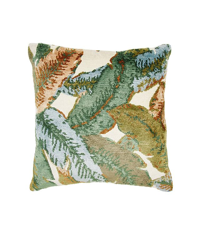Dolma Banana Leaf Oriental Rug Pillow