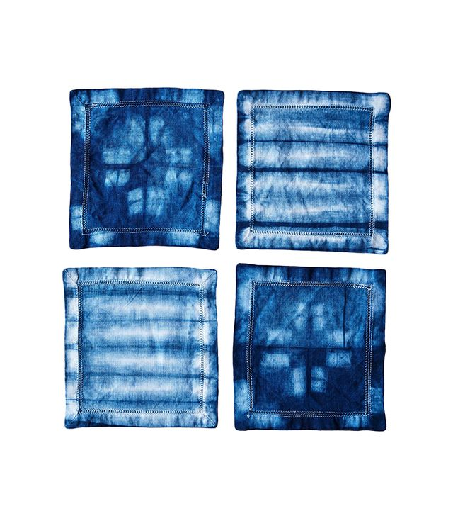 Ella Lou Shibori Cocktail Napkins