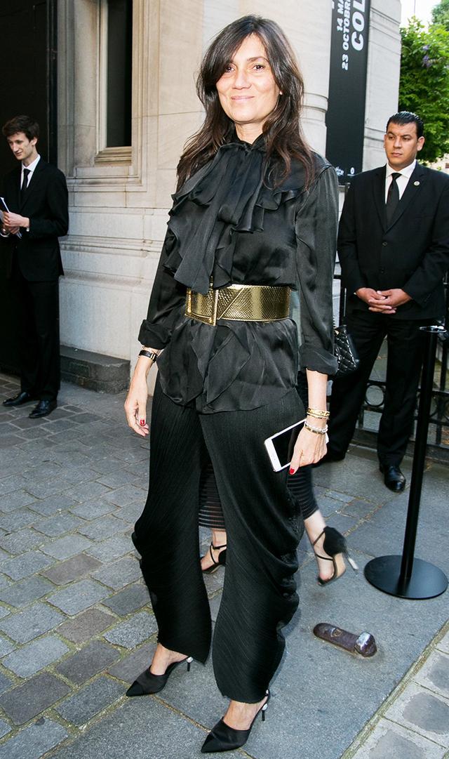 Emmanuelle Alt - Chanel heels