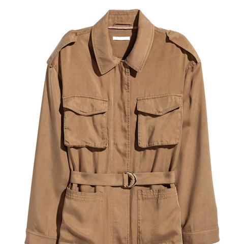 Lyocell Utility Jacket