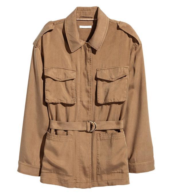 H&M Conscious Lyocell Utility Jacket