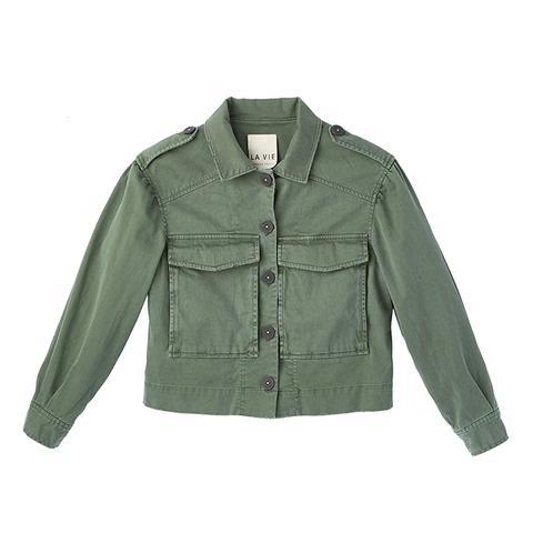 Luxe Twill Jacket