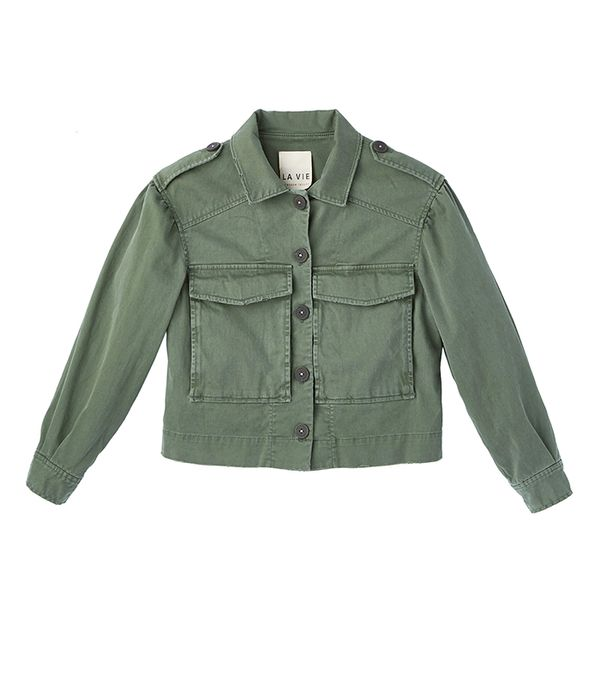 Rebecca Taylor La Vie Luxe Twill Jacket