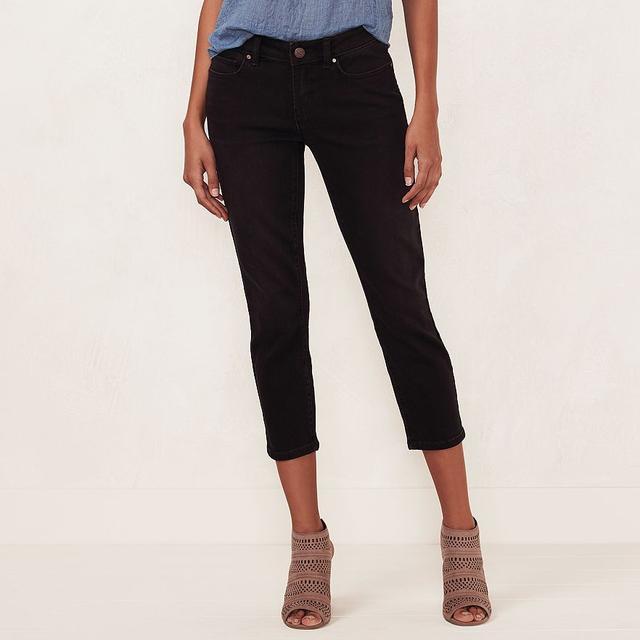 LC Lauren Conrad Skinny Capri Jeans