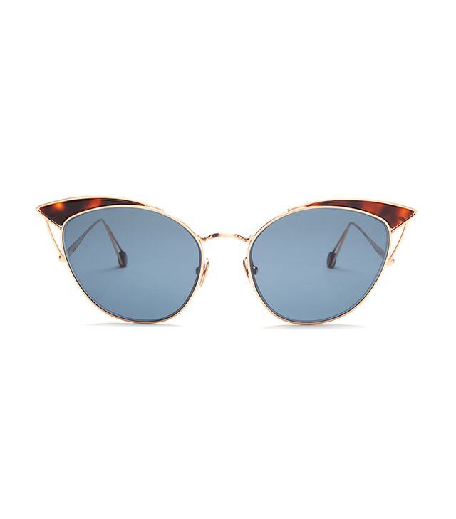 best cat-eye sunglasses: Ahlem place violet