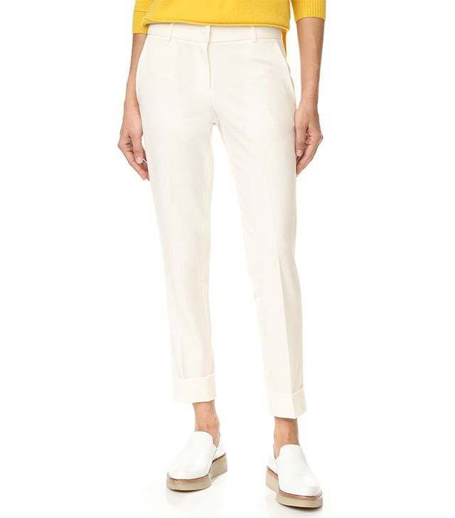 best white trousers