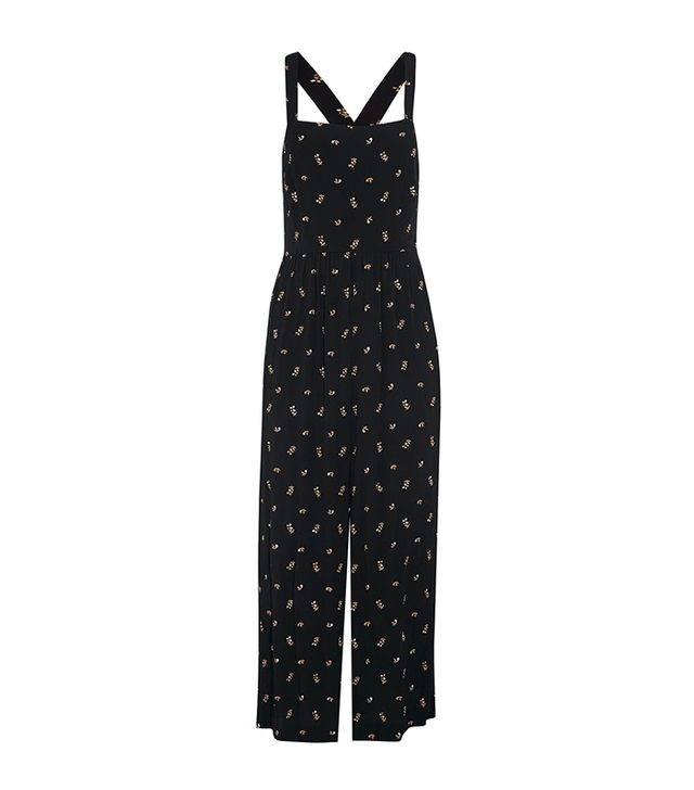 best jumpsuit- madewell Printed voile jumpsuit