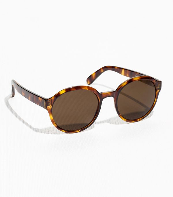 affordable sunglasses - & Other Stories Round Frame Sunglasses