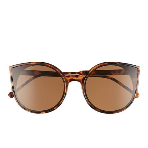 Flat Cat Eye Sunglasses