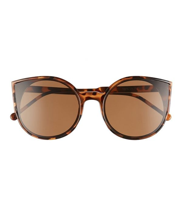 affordable sunglasses - BP Flat Cat Eye Sunglasses