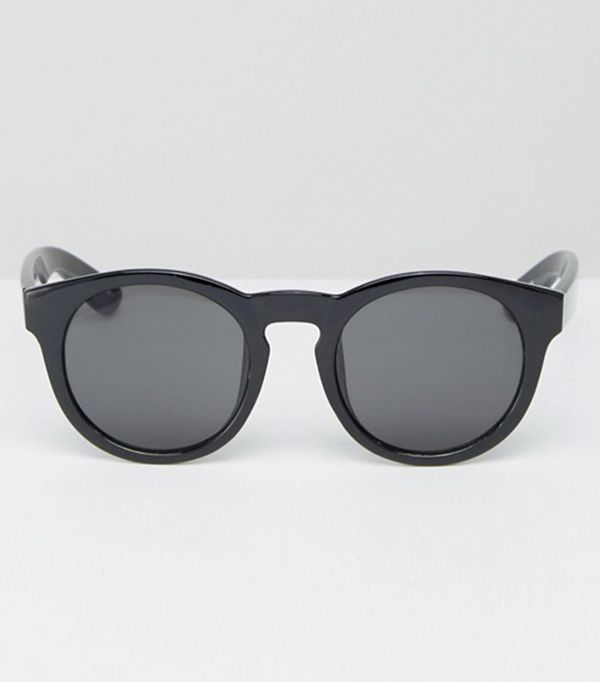 best affordable sunglasses - Monki Retro Round Keyhole Sunglasses