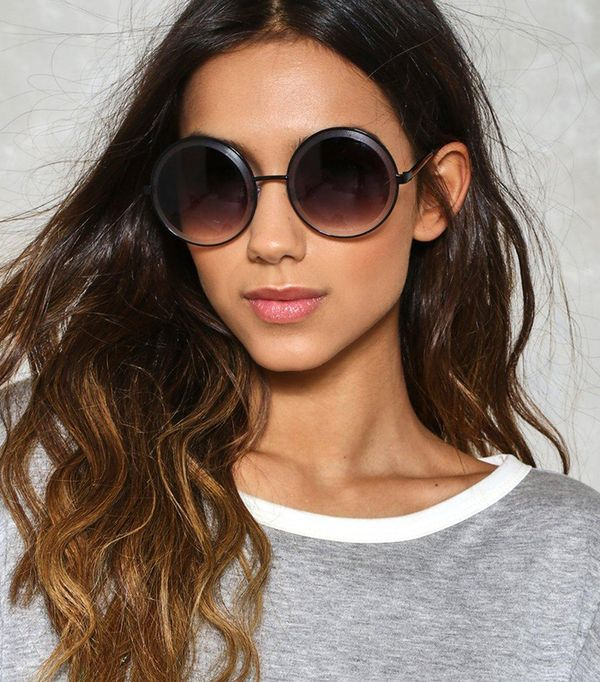 best affordable sunglasses - Nasty Gal Feel the Spin Circle Shades