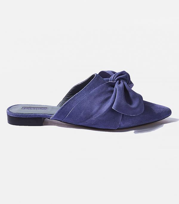 Chicago fashion - Topshop Kara Pointy Flat Mules