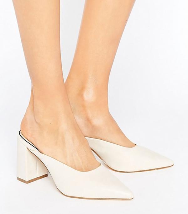 Chicago fashion - Miss Selfridge Pointed Heeled Mule