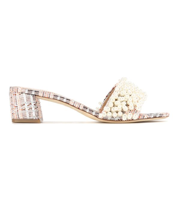 Tory Burch Tatiana 45mm Embellished Slides