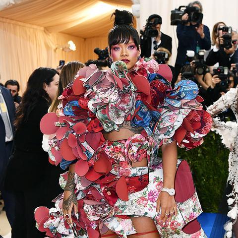 Met Gala 2017 red carpet: Rihanna Comme Des Garcons