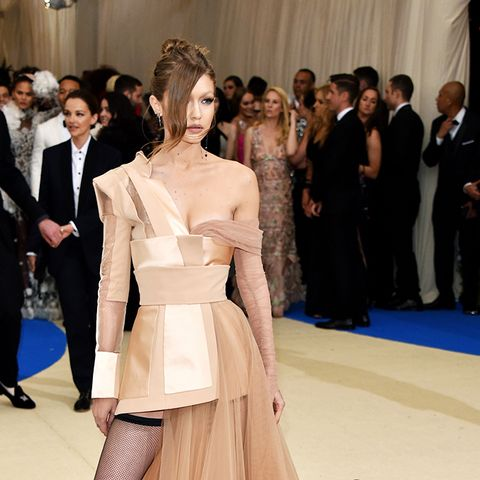 Met Gala 2017 red carpet: Gigi Hadid Tommy Hilfiger dress