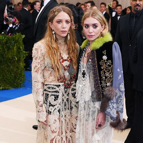 Met Gala 2017 red carpet: Olsen twins in bridal looks