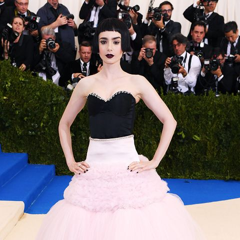 Met Gala 2017 red carpet: Lily Colllins