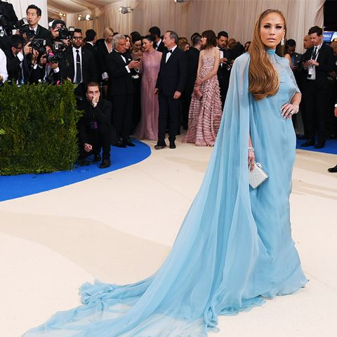 Met Gala 2017 red carpet: Jennifer Lopez in Valentino gown